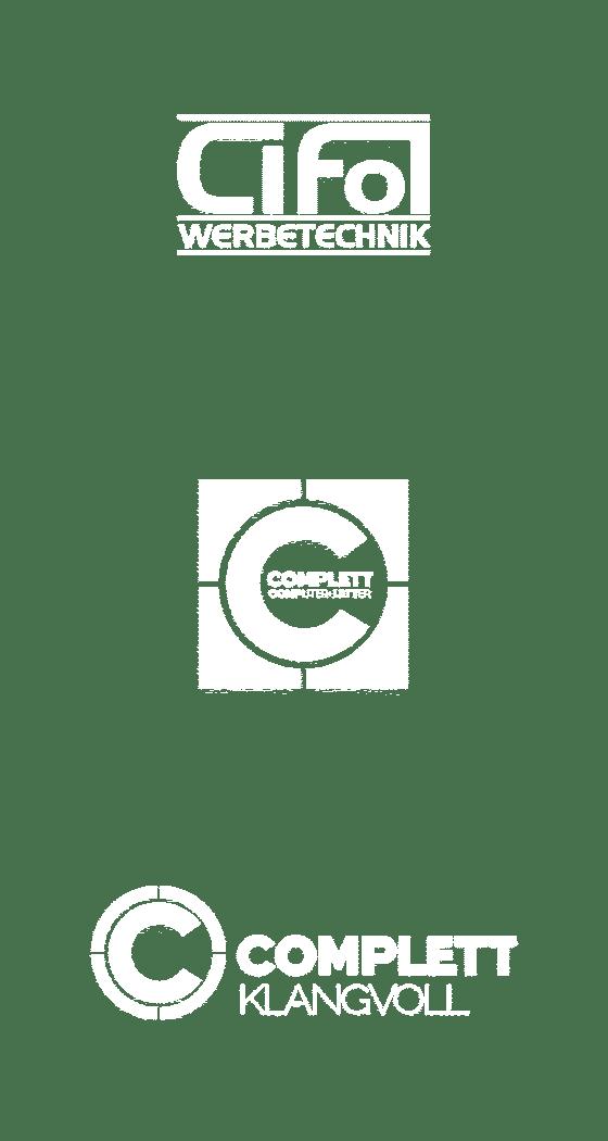 logos kunden cifol werbetechnik complett computer+letter complett klangvoll